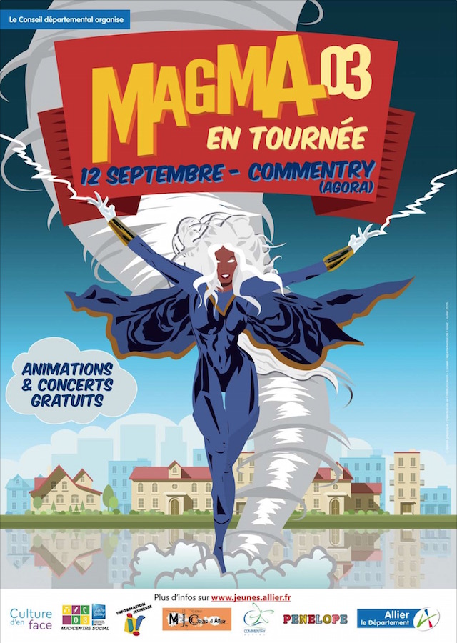 AFFICHE COMMENTRY